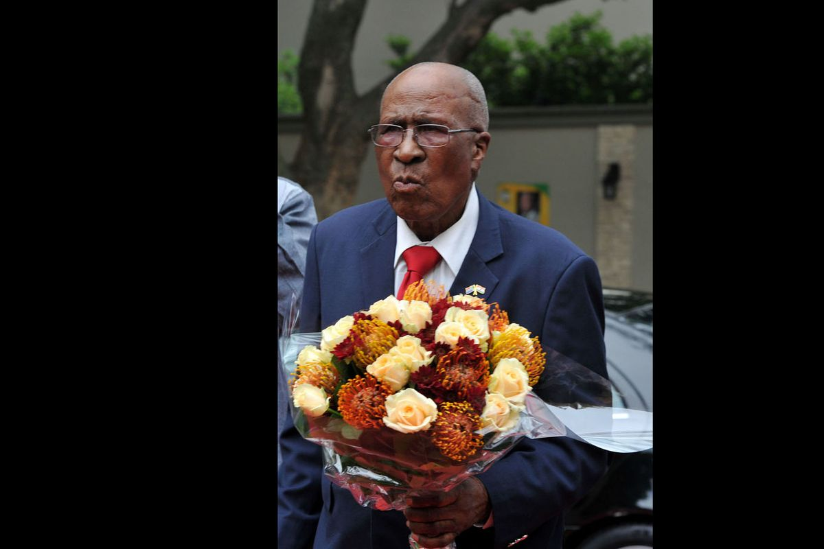 Andrew Mlangeni, anti-apartheid icon and convicted co-defendant with Nelson Mandela, passed away at age 95