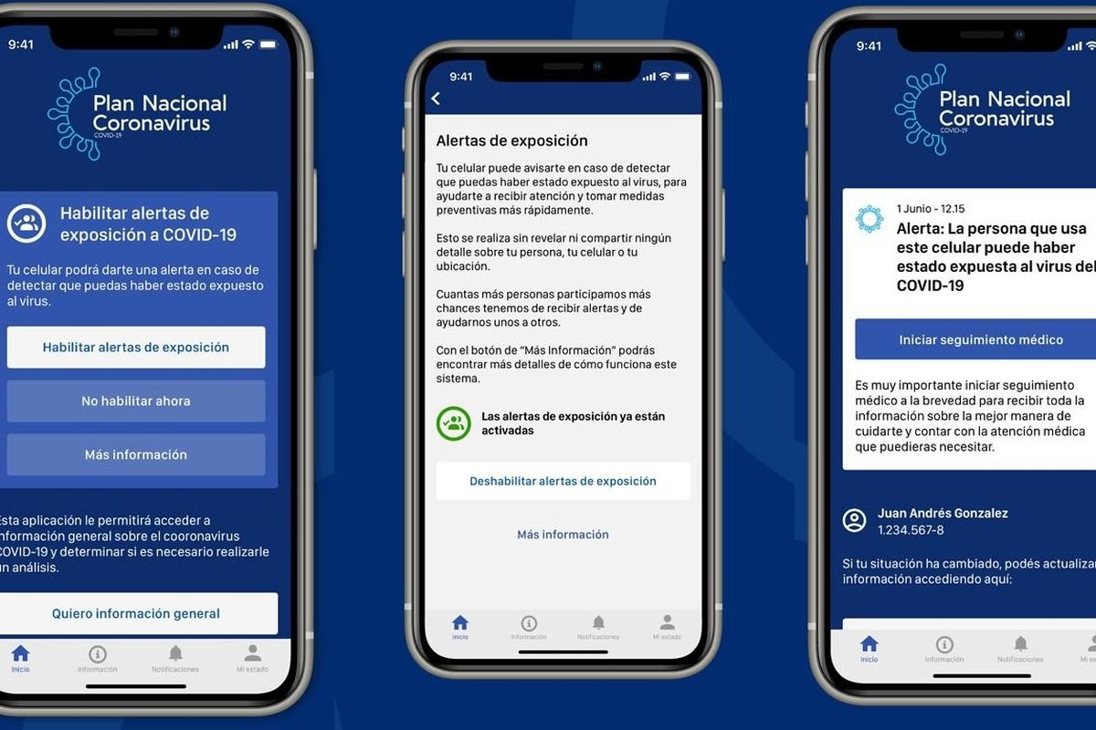 After a new Covid-19 outbreak, Uruguay enforces contact tracing app for public transport users