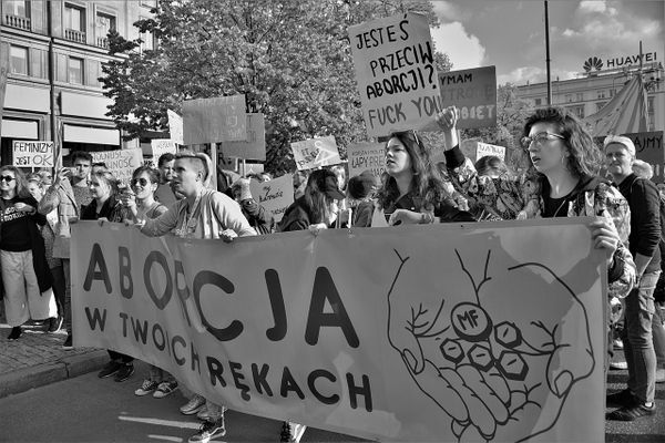 Second pro-choice march for the Safe Abortion Day, Warsaw, Sep 2019