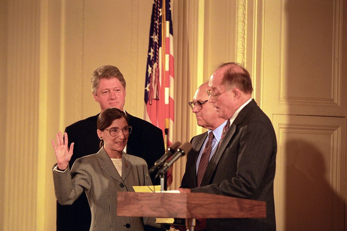 RBG to be the first woman to lie in state at U.S. Capitol