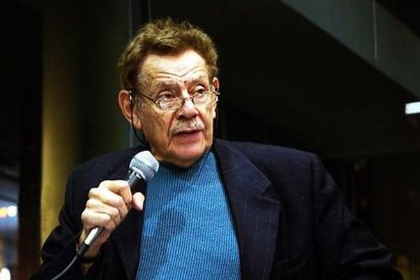 Jerry Stiller in New York City for a book reading for Festivus