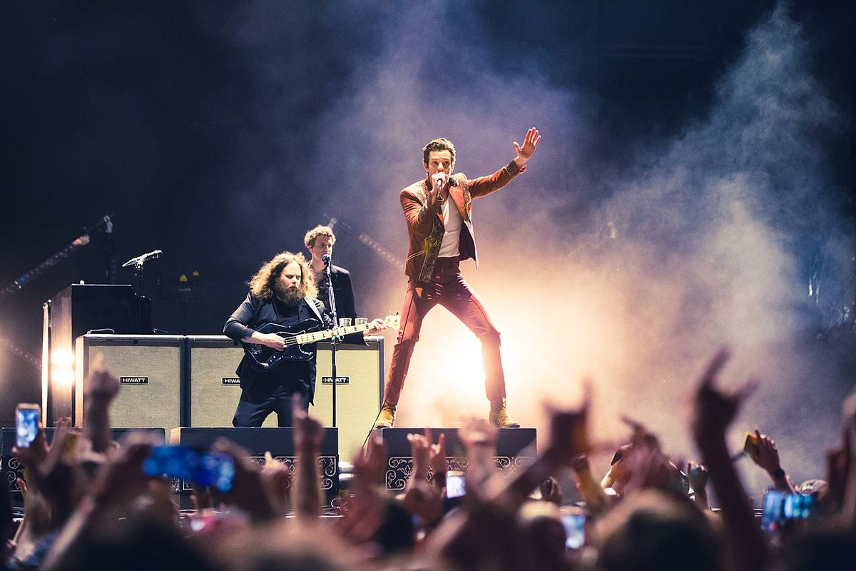 The Killers: Mr Brightside sets new UK chart record