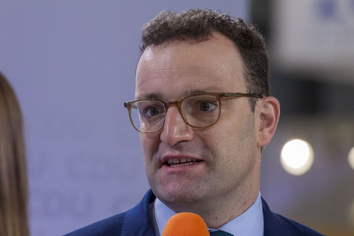 The German Health Minister Jens Spahn tested positive for Covid-19