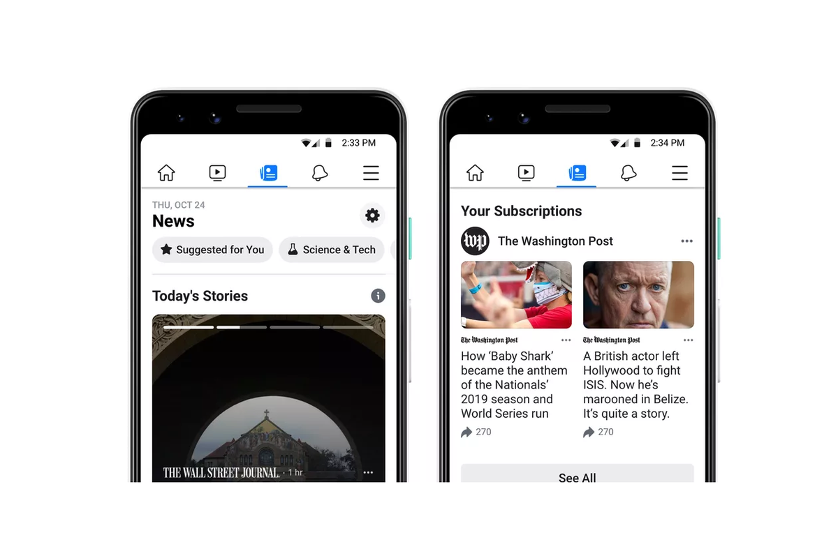 Facebook News available to all in US, with local news and video