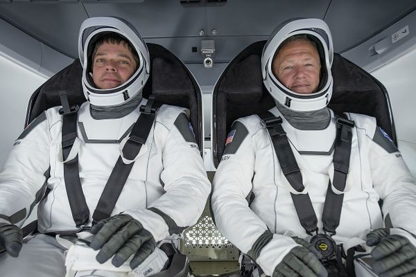 SpaceX Crew Dragon departed and headed home