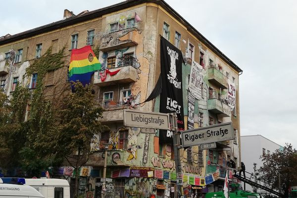 Berlin house project evicted by Police