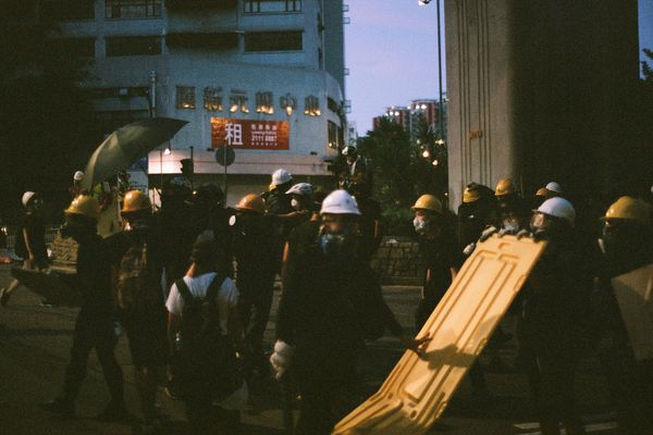 Hong Kong annual pro-democracy demo banned by police