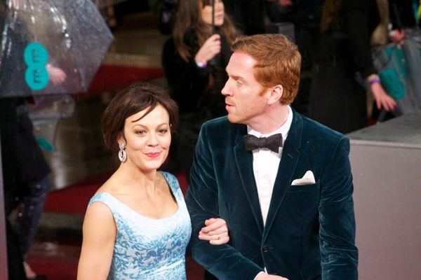 Helen McCrory and Damian Lewis in 2013