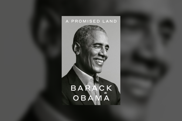"Cover of ""A Promised Land"" by Barack Obama"