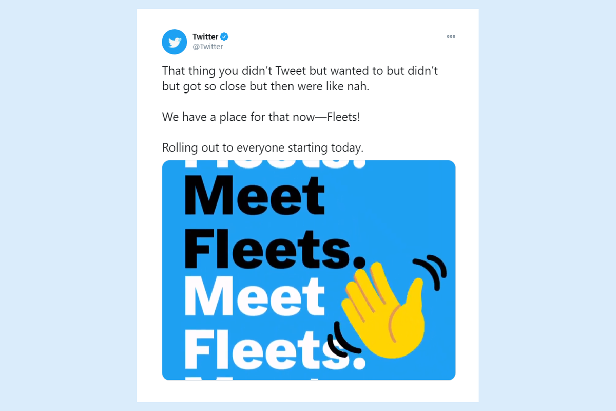 Twitter rolls out Fleets feature similar to Snapchat and Instagram Stories
