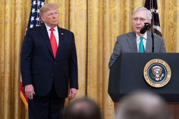 Mitch McConnell congratulates Biden on presidential election victory