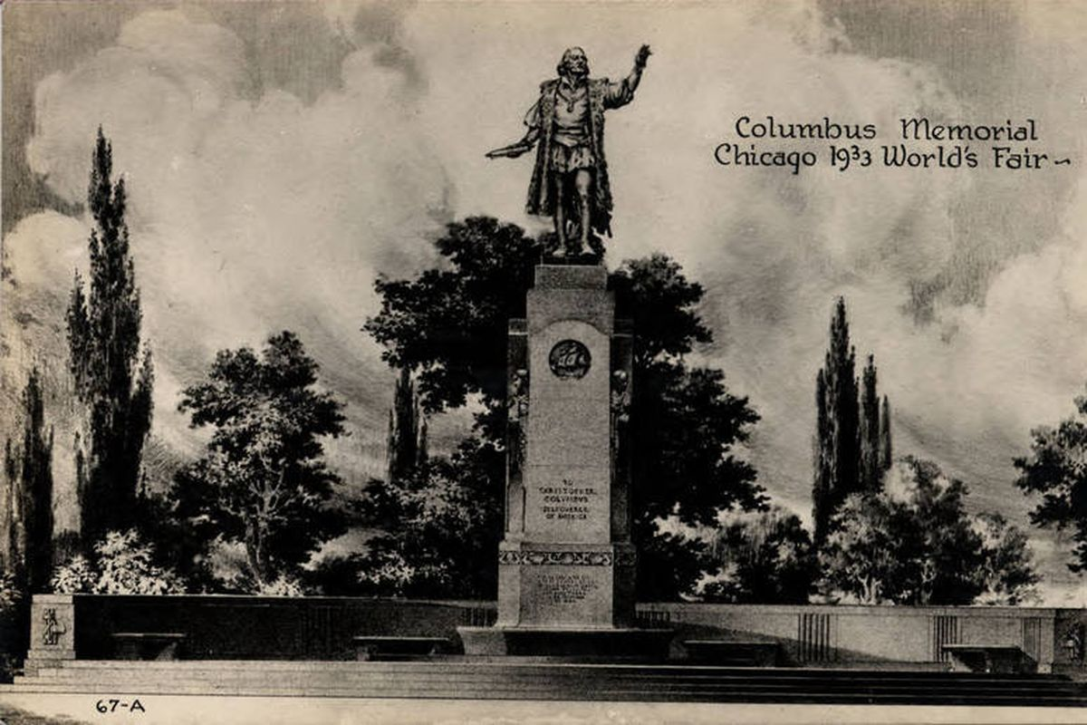 Chicago temporarily take down Christopher Columbus statues