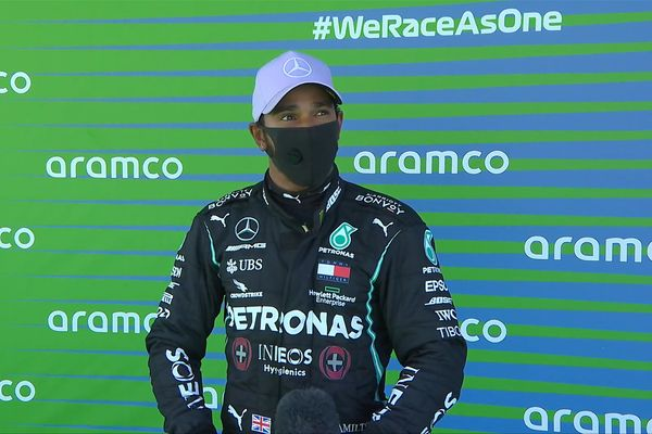 Formula 1: Lewis Hamilton on the pole position in Barcelona
