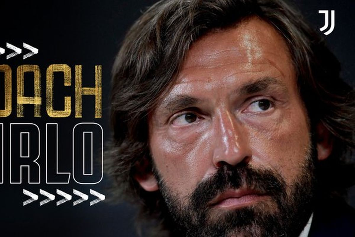 Andrea Pirlo is the new manager of Juventus