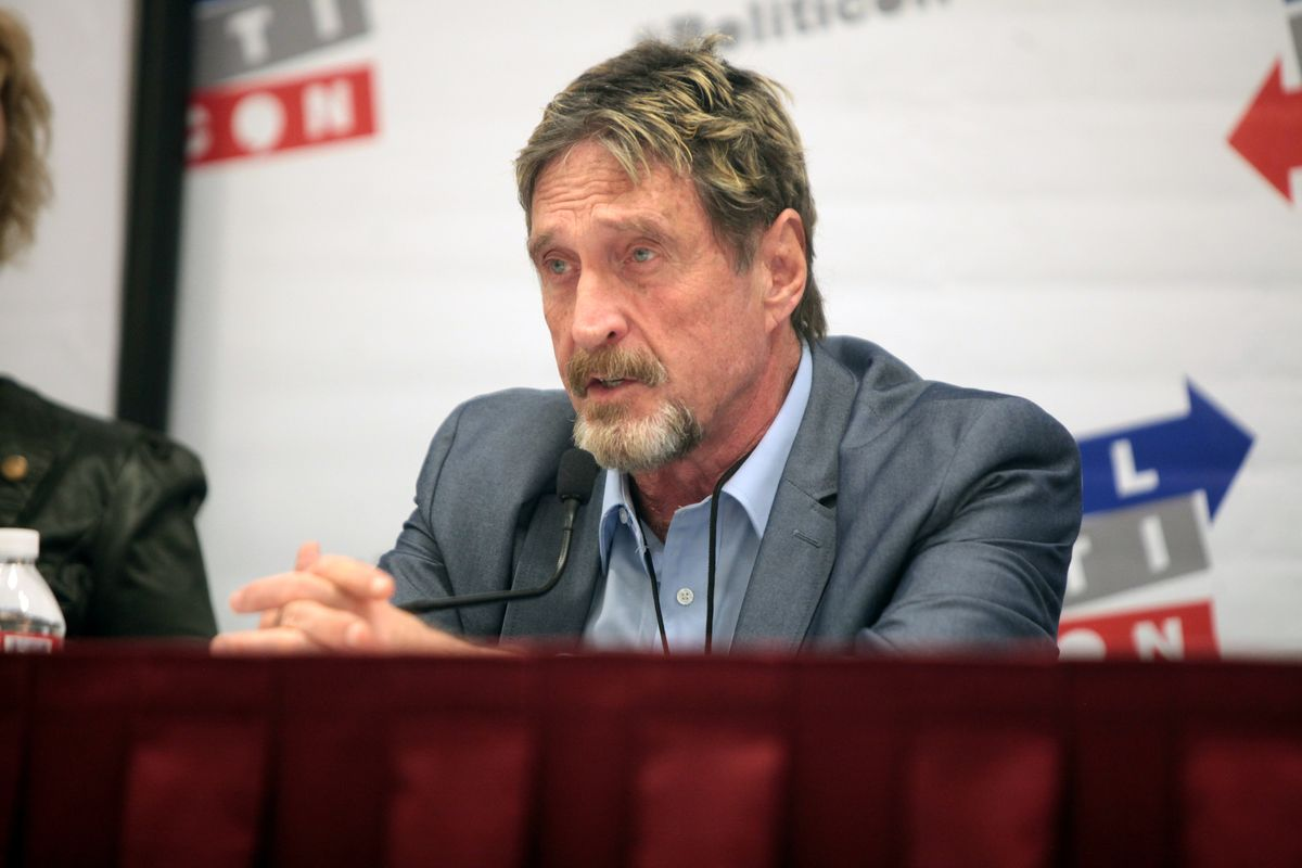 John McAfee and a consultant indicted on crypto fraud charges
