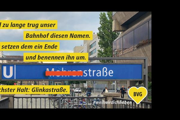 Berlin changes racist subway station name