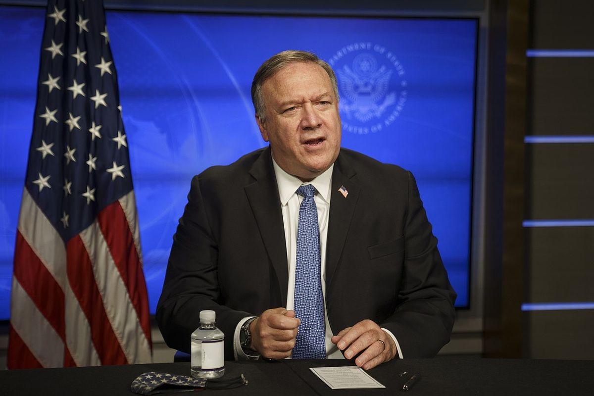 Mike Pompeo is hosting a 900-person indoor Christmas party at the State Department amid Covid-19 surge