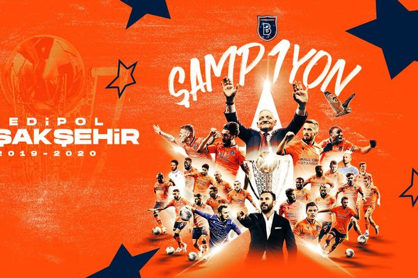 Istanbul Basaksehir claimed their first Turkish Super Lig title