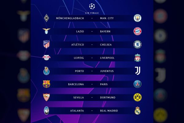 UEFA Champions League 2020-21 round of 16