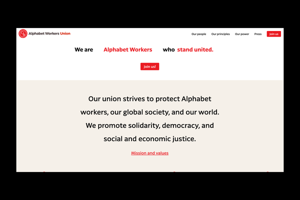 Google workers form union amid ongoing tensions with senior executives