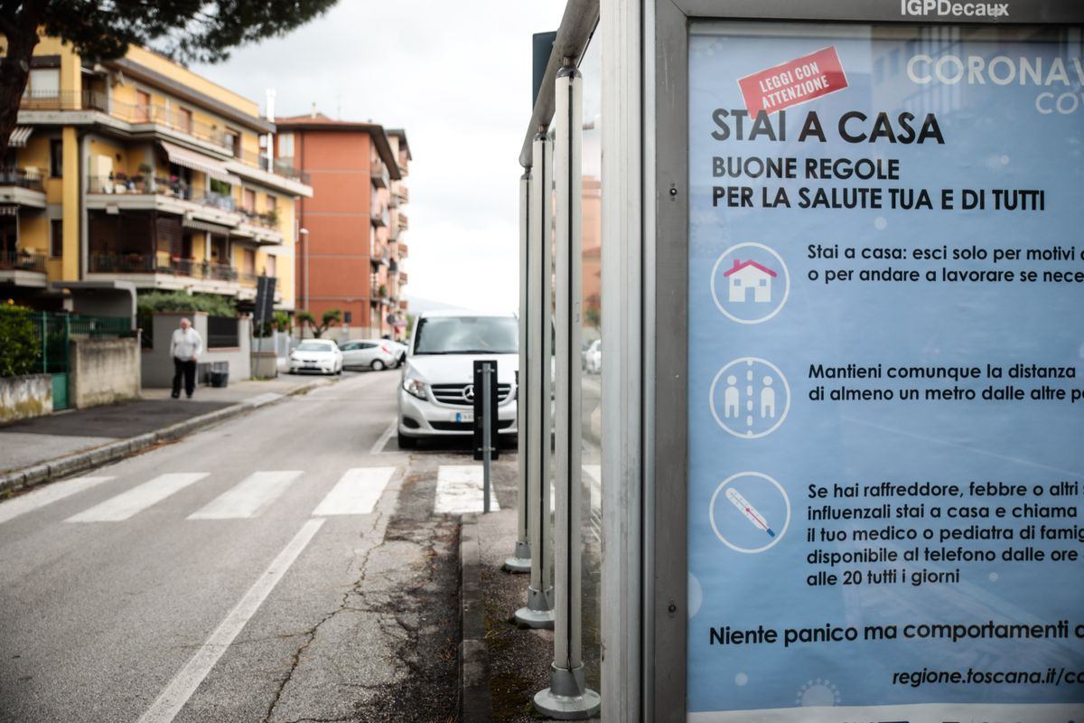 Italy has registered a record 7,332 new Covid-19 infections over 24 hours