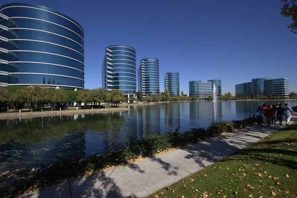 Oracle Corporation headquarters in Redwood Shores