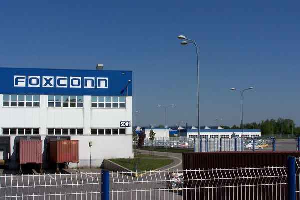 Foxconn factory at Czech Republic