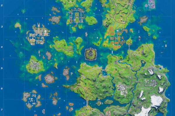 EPIC Games Fortnite Map