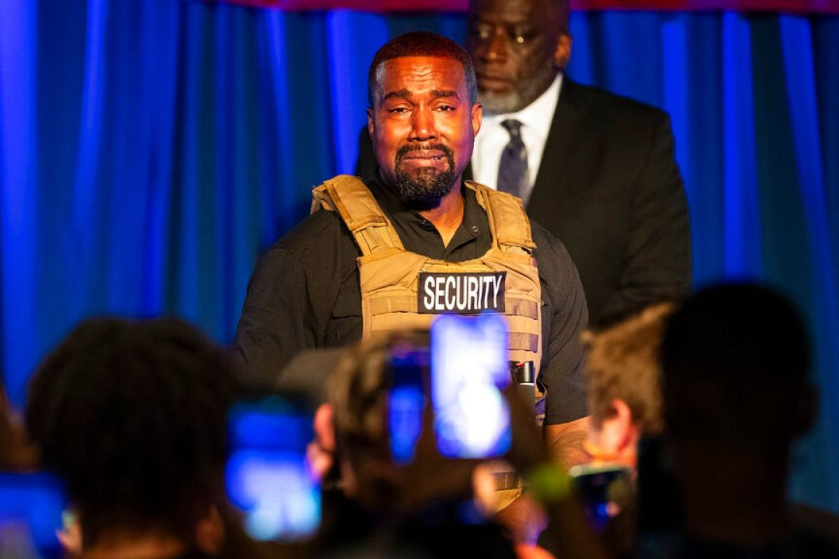 Kanye Wests holds first rally for his presidential campaign
