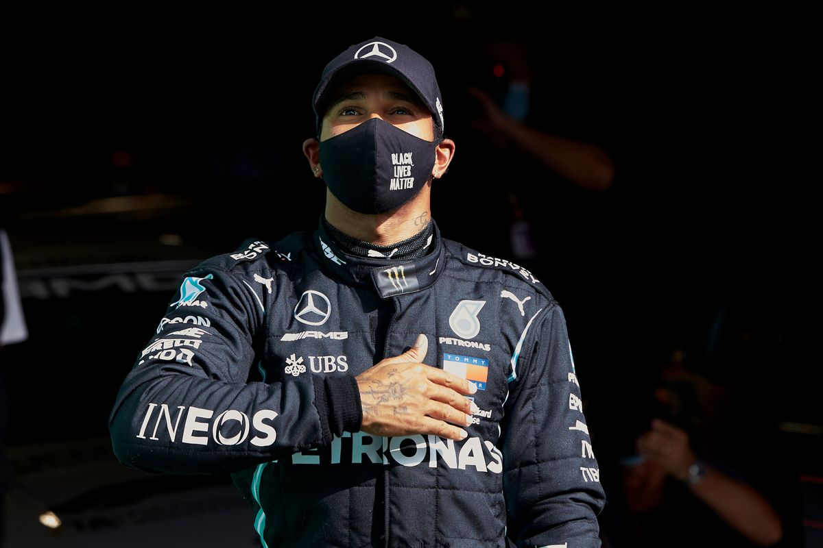 Portuguese GP: Hamilton is fastest in the last lap, overtakes Bottas and celebrates his 97th pole position in F1