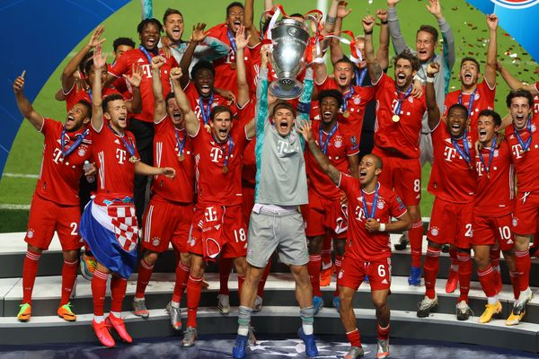 Bayern win the Champions League for the sixth time