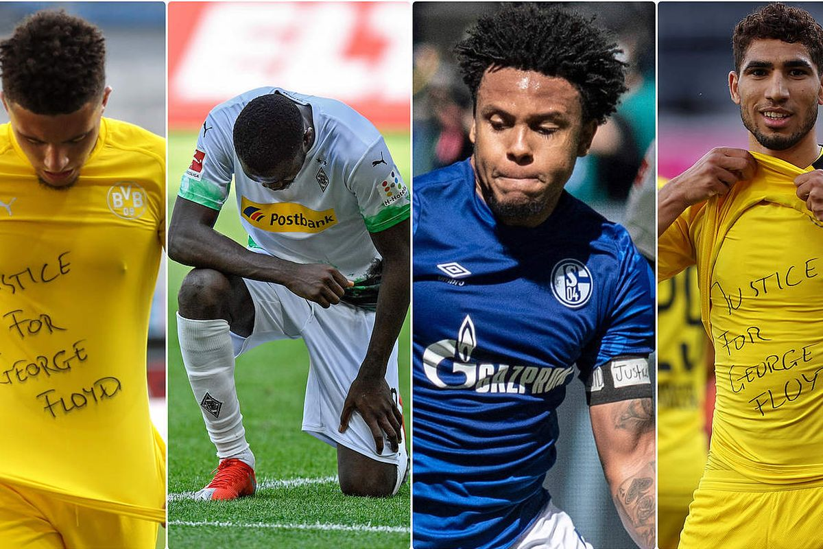 No sanctions against anti-racism protests by players in the Bundesliga