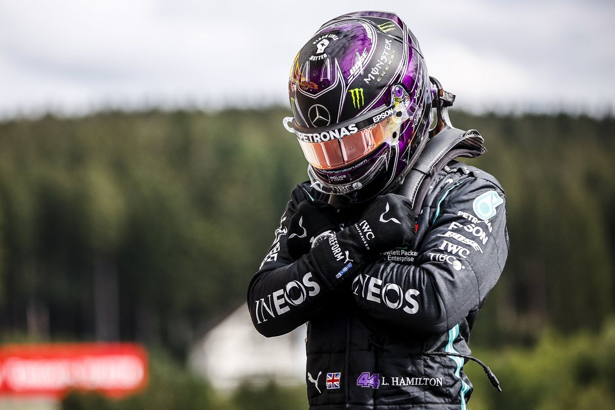 Formula 1: Lewis Hamilton on the pole position in Spa-Francorchamps, dedicate it to Chadwick Boseman