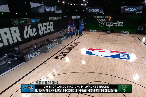 Black Lives Matter: Milwaukee Bucks decided to boycott game 5 against Orlando Magic to protest the shooting of Jacob Blake