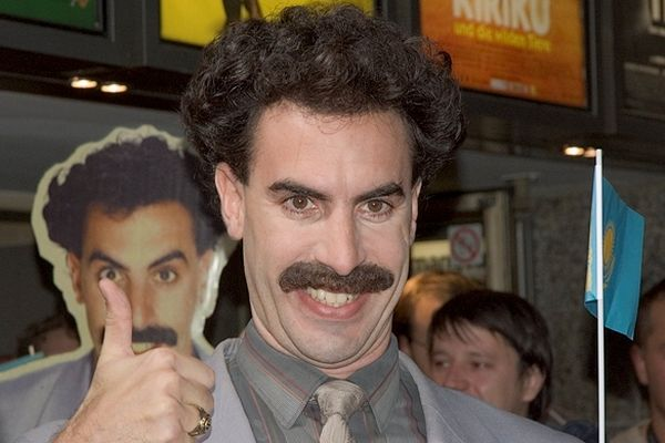 """Very nice"" catchphrase from Borat adopted by Kazakhstan for tourism campaign"