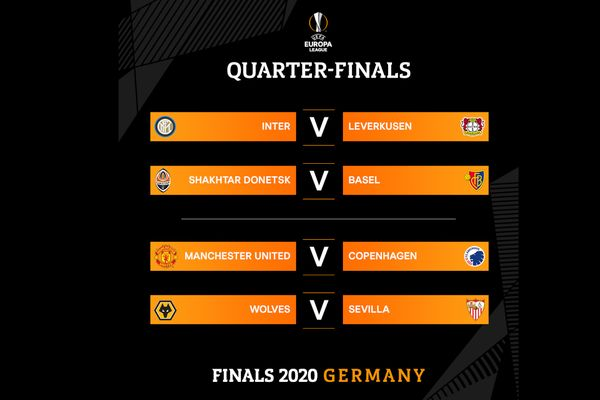 UEFA Europa League quarter-finals are set