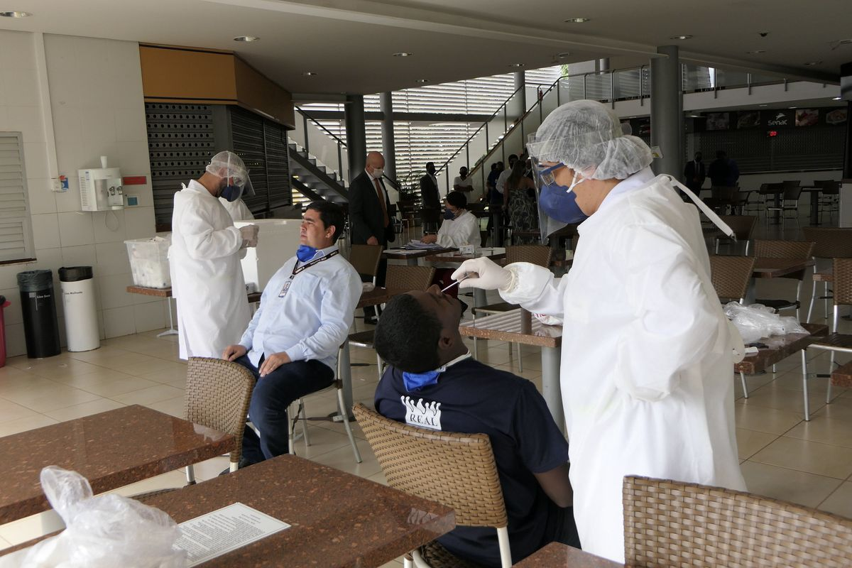 Covid-19 death toll in Brazil reaches 40,000 with 800,000 confirmed infections