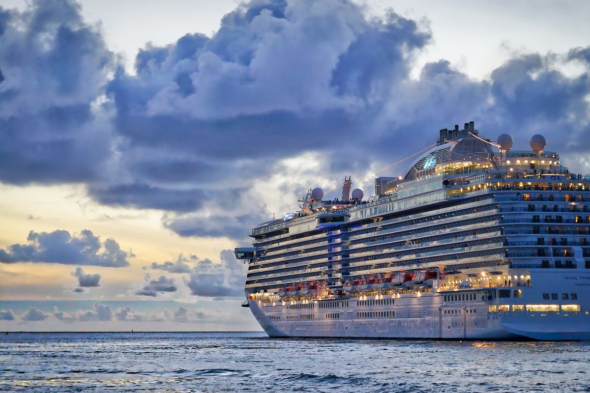 Cruise ships in Hamburg are allowed to donate food