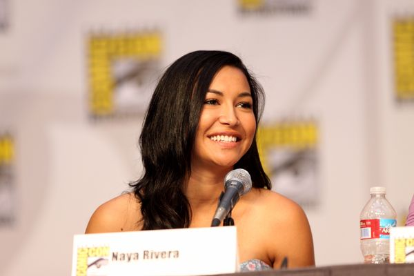 Actress Naya Rivera on the Glee panel at the 2010 San Diego Comic Con in San Diego, California.
