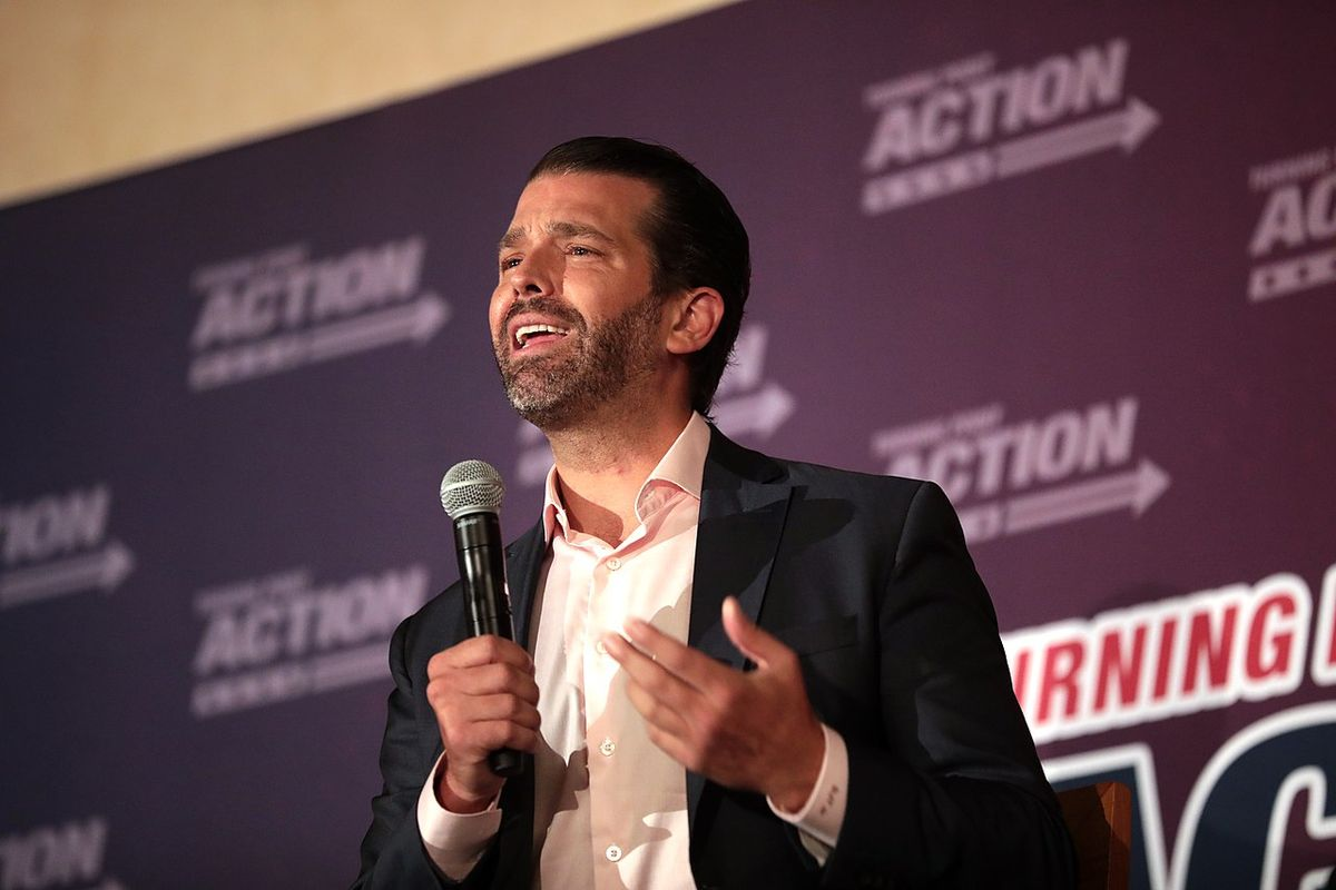 Donald Trump Jr. tested positive for Covid-19