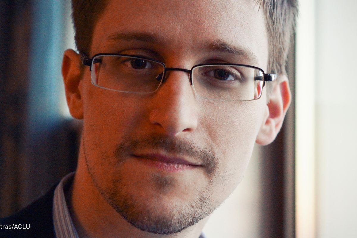Trump says he is 'going to start looking at it' at pardon for Edward Snowden