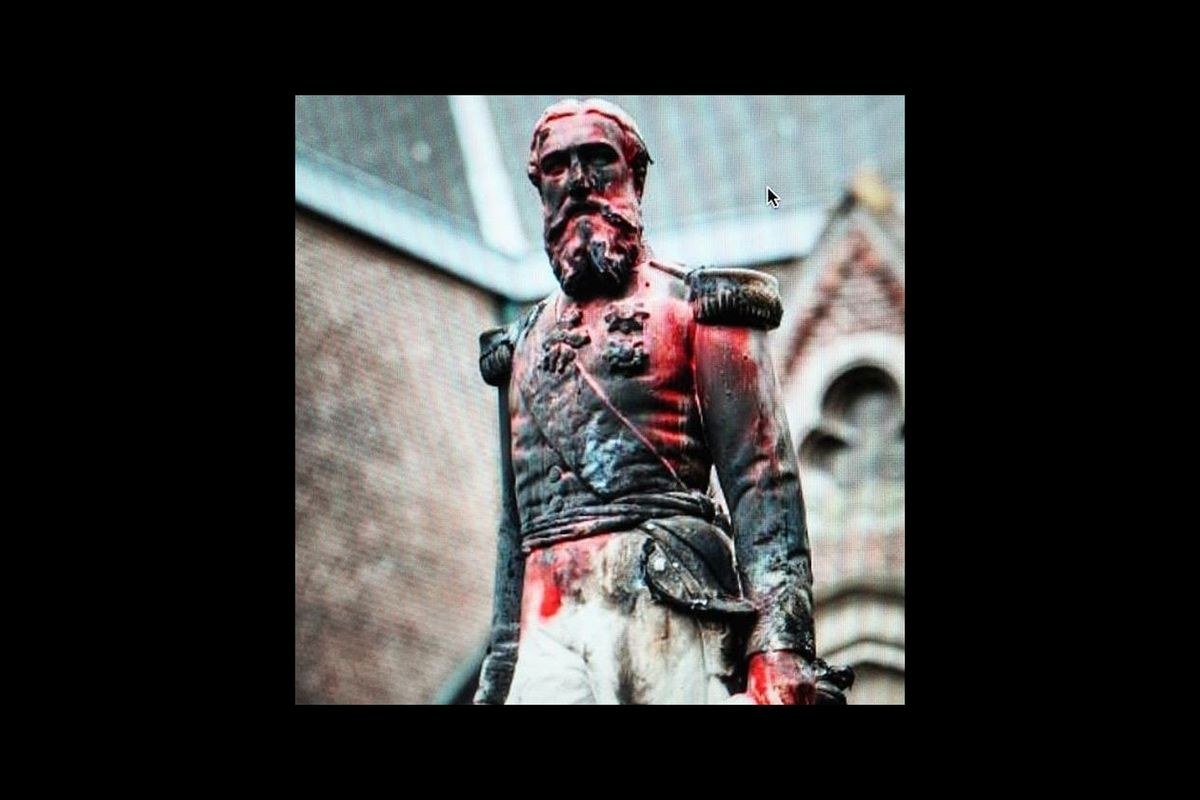 Antwerp city removes King Leopold II statue after anti-racist protest