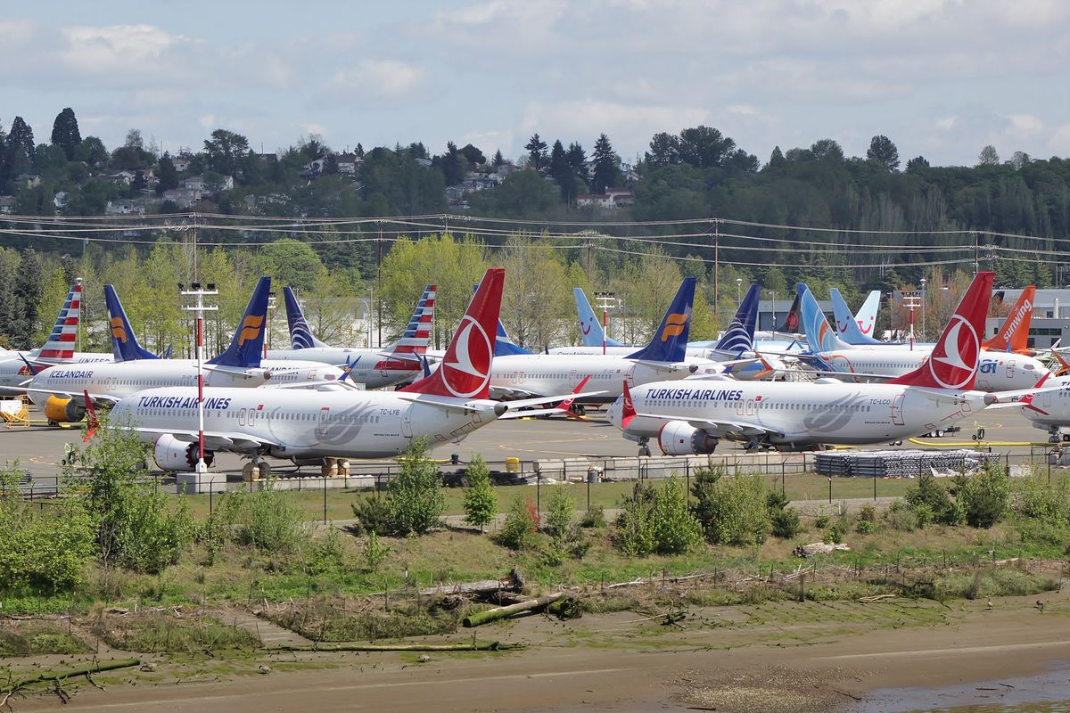 Boeing warns customers of new problems with broken-down 737 Max aircraft