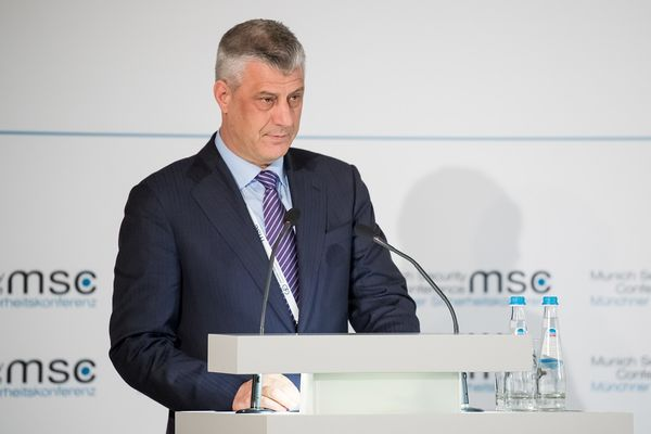 Kosovo's President Thaci resigns to face charges for war crimes
