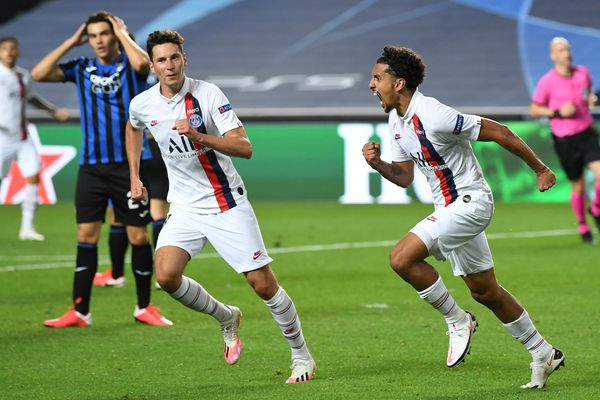 PSG scores twice in stoppage-time to advance to Champions League semi-finals