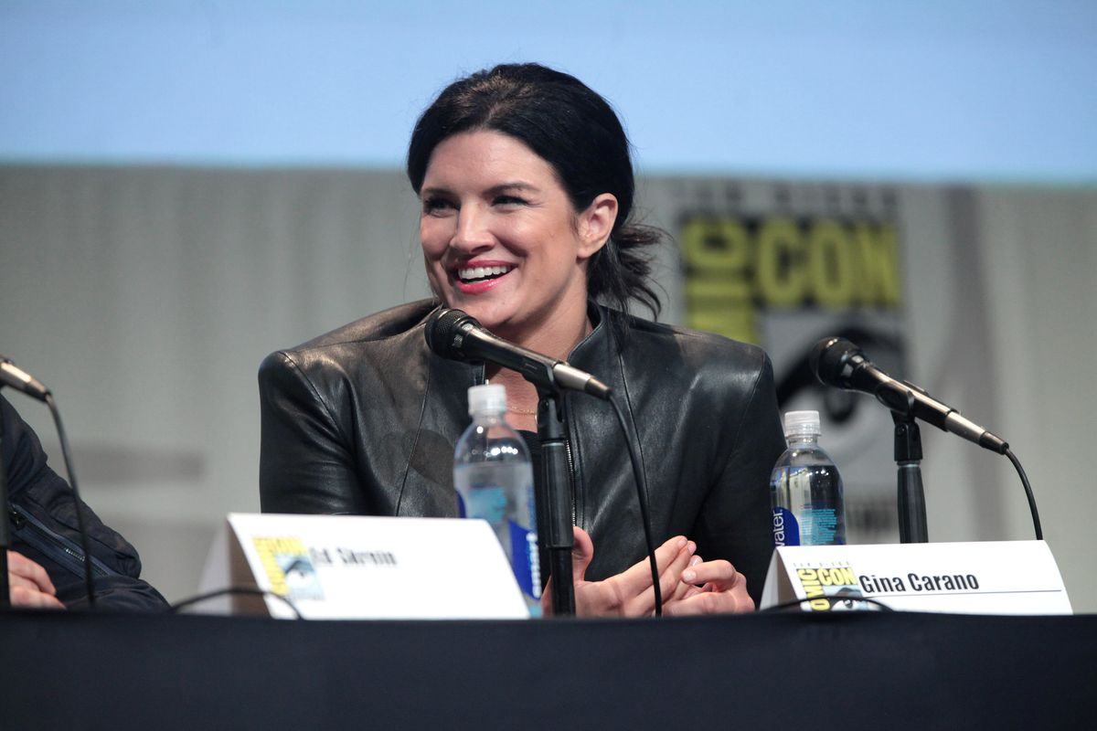 'The Mandalorian' star Gina Carano is fired from the series over social media posts