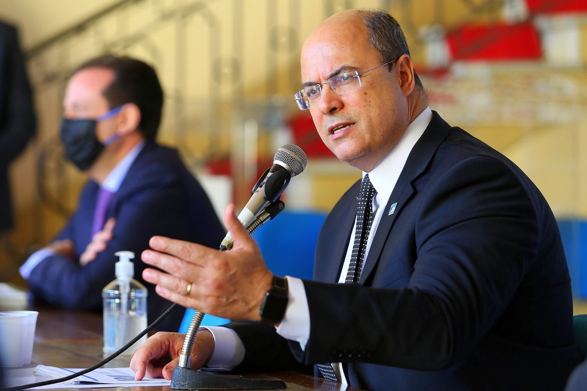 Court removes Governor of Rio de Janeiro Witzel from office for suspected irregularities
