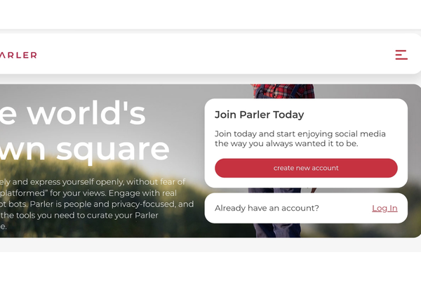 Google bans right-wing online network Parler from App Store