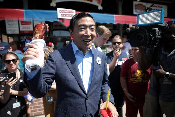 Andrew Yang has filed paperwork to run for mayor of New York City