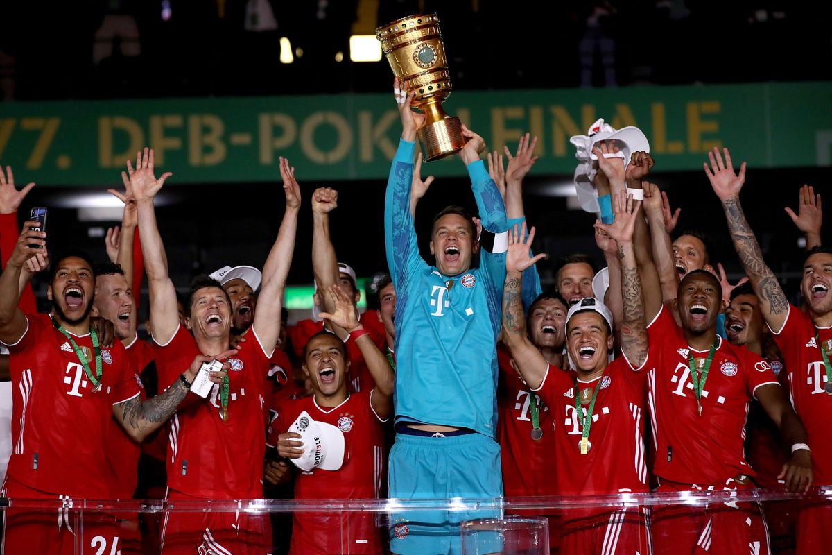 Bayern Munich secure domestic double after German Cup title